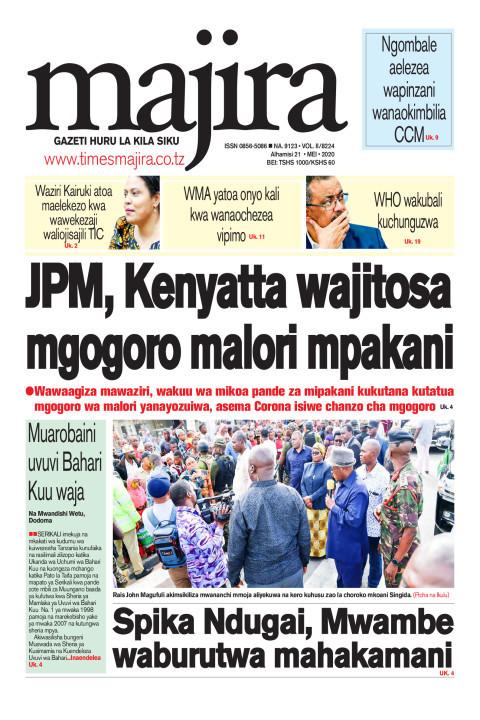 JPM, Kenyatta wajitosa mgogoro malori mpakani   MAJIRA