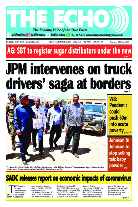 JPM intervenes on truck drivers' saga at borders | The ECHO