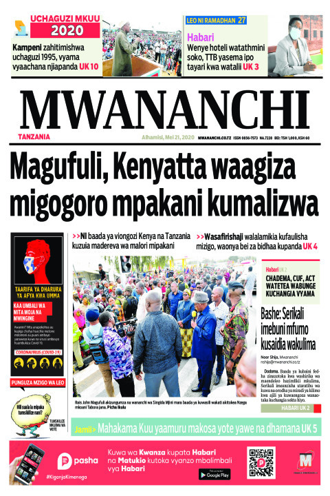 Magufuli, Kenyatta waagiza migogoro mpakani kumalizwa | Mwananchi