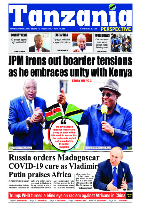 JPM irons out border tensions as he embraces unity with Keny | Tanzania Perspective