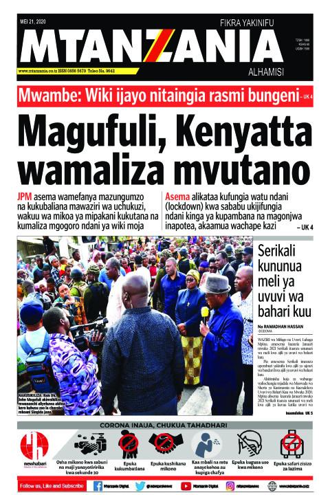 Magufuli, Kenyatta wamaliza mvutano | Mtanzania