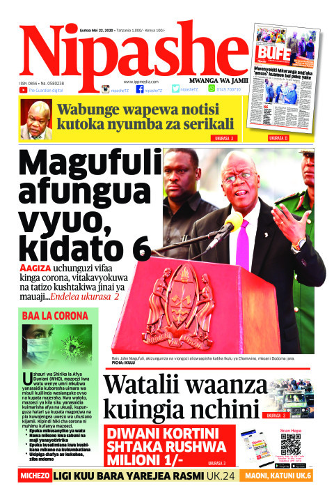 Magufuli afungua vyuo, kidato 6 | Nipashe