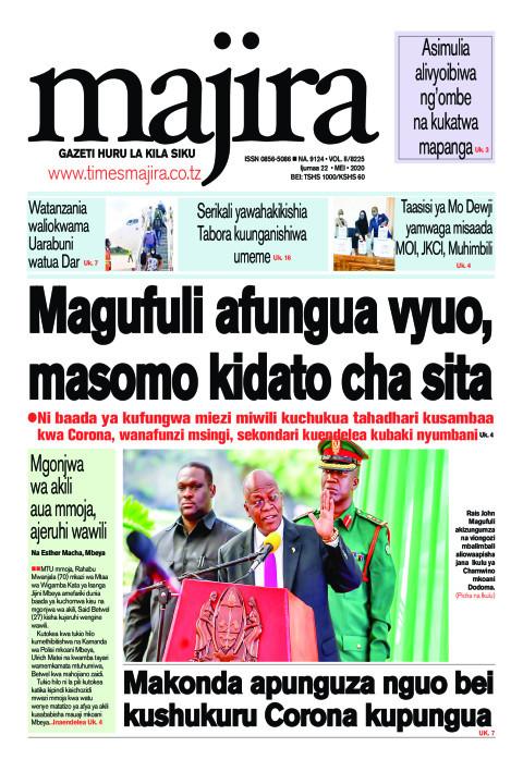 Magufuli afungua vyuo, masomo kidato cha sita   MAJIRA
