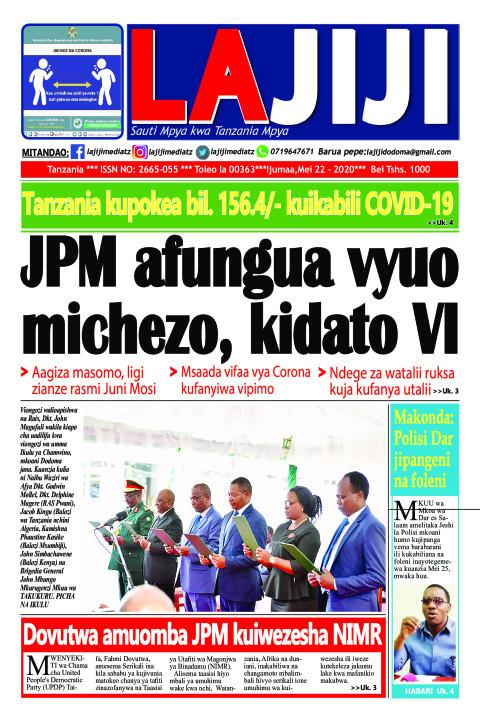 JPM afungua vyuo michezo, kidato VI  | LaJiji