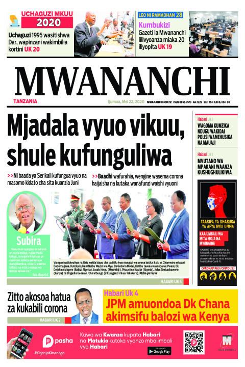 Mjadala vyuo vikuu, shule kufunguliwa | Mwananchi