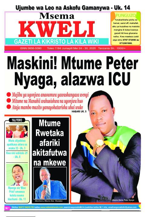 Maskini! Mtume Peter Nyaga, alazwa ICU: Mitume na Manabii wa | MSEMA KWELI