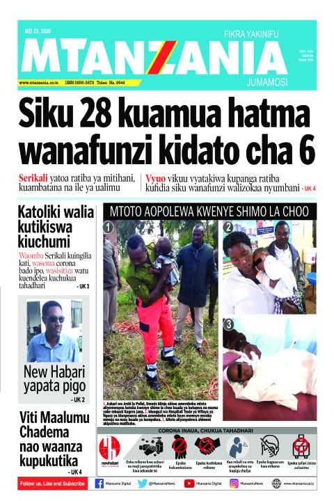 Siku 28 kuamua hatma wanafunzi kidato cha 6 | Mtanzania