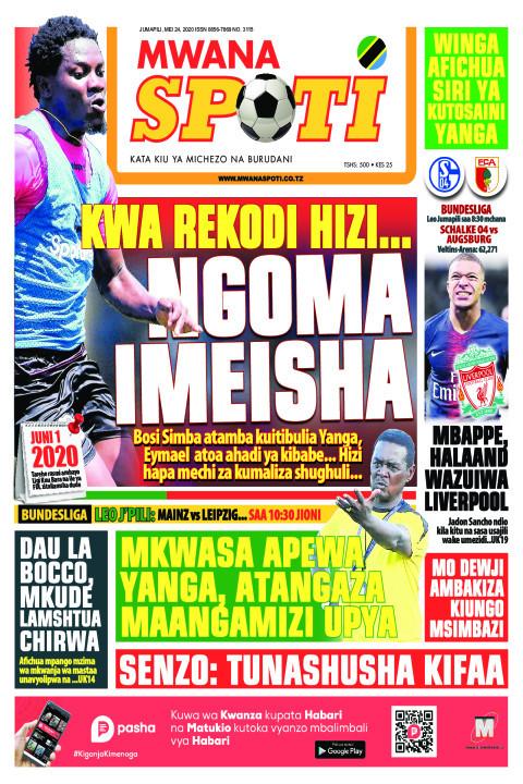KWA REKODI HIZI NGOMA IMEISHA | Mwanaspoti