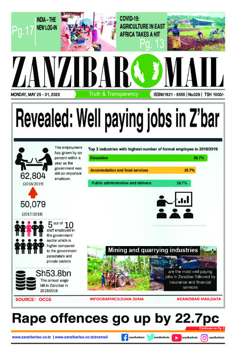 Revealed: Well paying jobs in Z'bar | ZANZIBAR MAIL