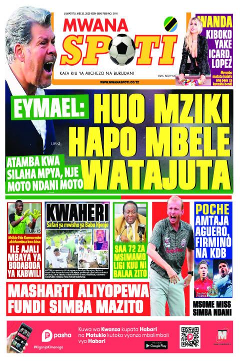 EYMAEL: HUO MZIKI HAPO MBELE WATAJUTA | Mwanaspoti