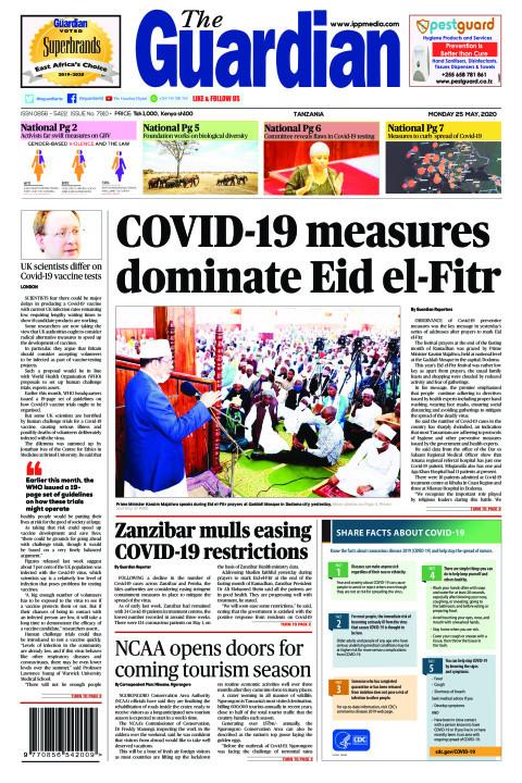 COVID-19 measures  dominate Eid el-Fitr | The Guardian