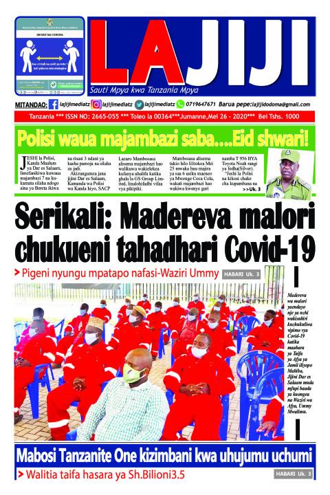Serikali: Madereva malori chukueni tahadhari Covid-19   LaJiji