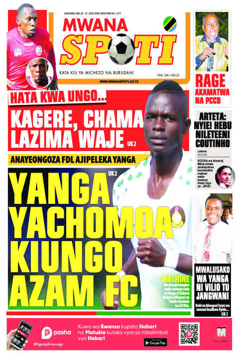 YANGA YACHOMOA KIUNGO AZAM FC | Mwanaspoti