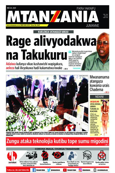 Kuelekea Uchaguzi Mkuu - Rage alivyodakwa na TAKUKURU  | Mtanzania