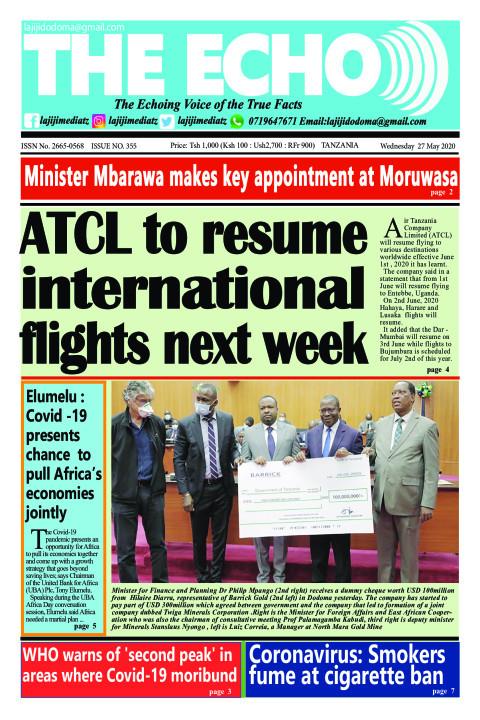 ATCL to resume international flights next week   The ECHO