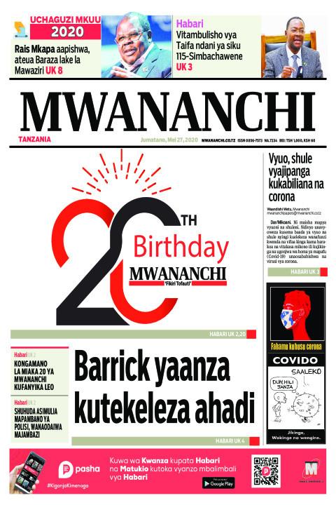 Barrick yaanza kutekeleza ahadi | Mwananchi