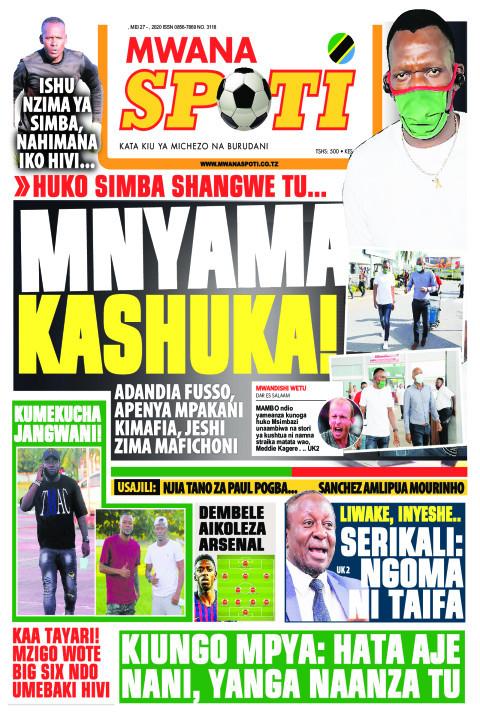 MNYAMA KASHUKA! | Mwanaspoti