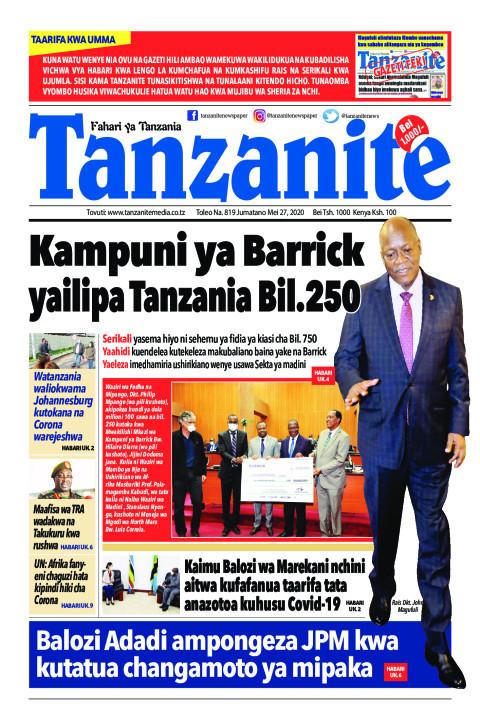 Balozi Adadi ampongeza JPM kwa kutatua changamoto ya mipaka | Tanzanite