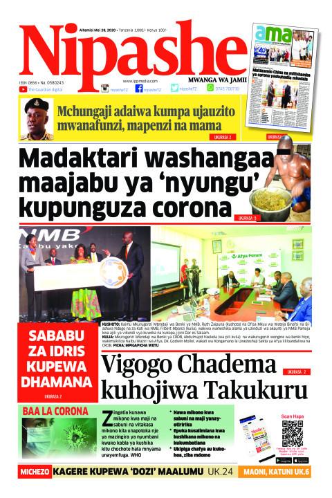 Madaktari washangaa maajabu ya 'nyungu' kupunguza corona | Nipashe