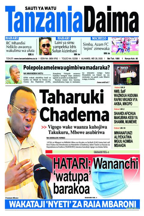 Taharuki Chadema | Tanzania Daima