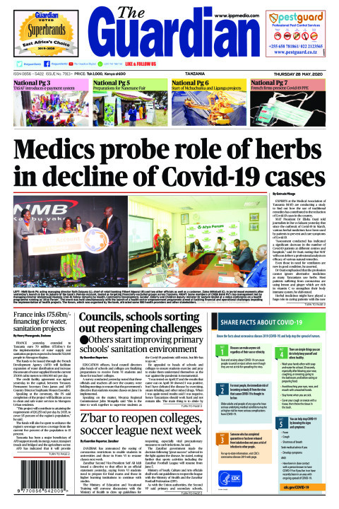 Medics probe role of herbs in decline of Covid-19 cases | The Guardian