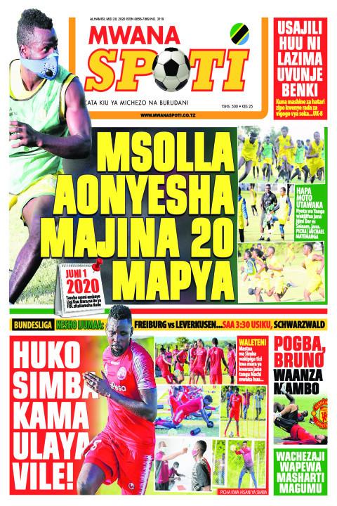 MSOLLA AONYESHA MAJINA 20 MAPYA | Mwanaspoti