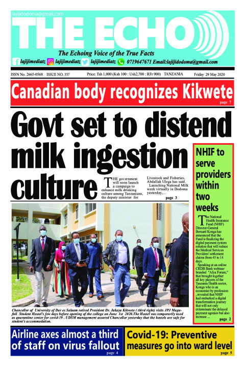 Govt set to distend milk ingestion culture   The ECHO