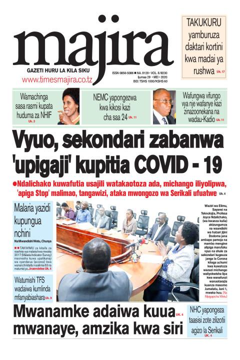 Vyuo, sekondari zabanwa 'upigaji' kupitia covid - 19   MAJIRA