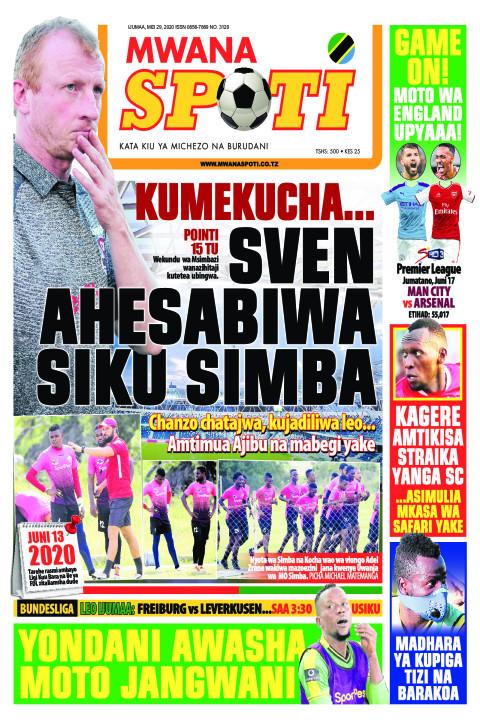 KUMEKUCHA...SVEN AHESABIWA SIKU SIMBA | Mwanaspoti