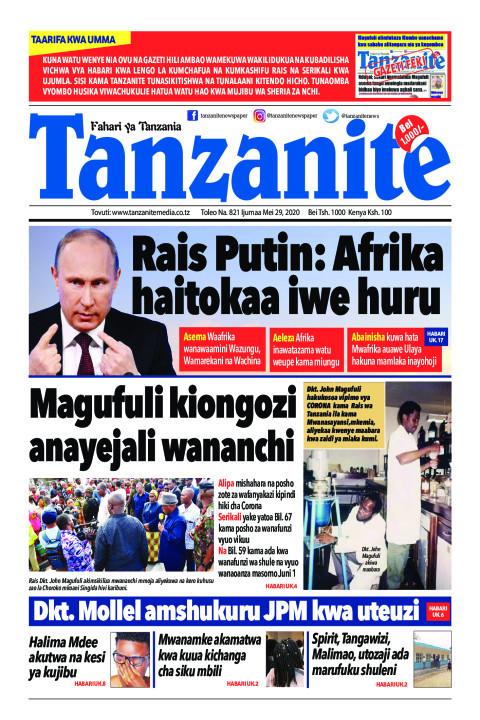Rais Putin: Afrika haitokaa iwe huru | Tanzanite
