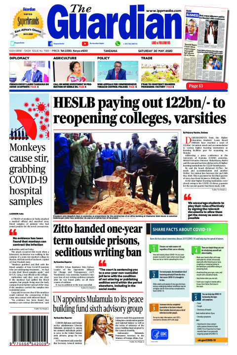 HESLB paying out 122bn/- to reopening colleges, varsities | The Guardian