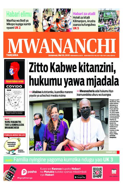 Zitto Kabwe kitanzini, hukumu yawa mjadala | Mwananchi
