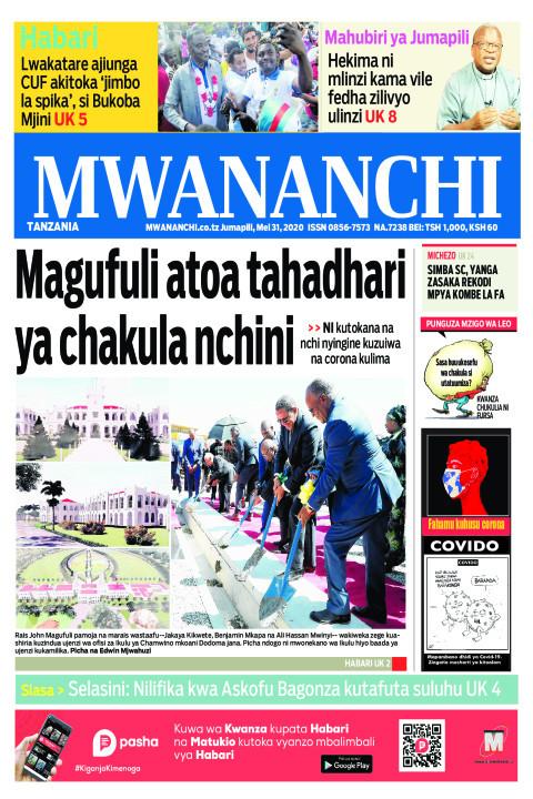 Magufuli atoa tahadhari ya chakula nchini | Mwananchi