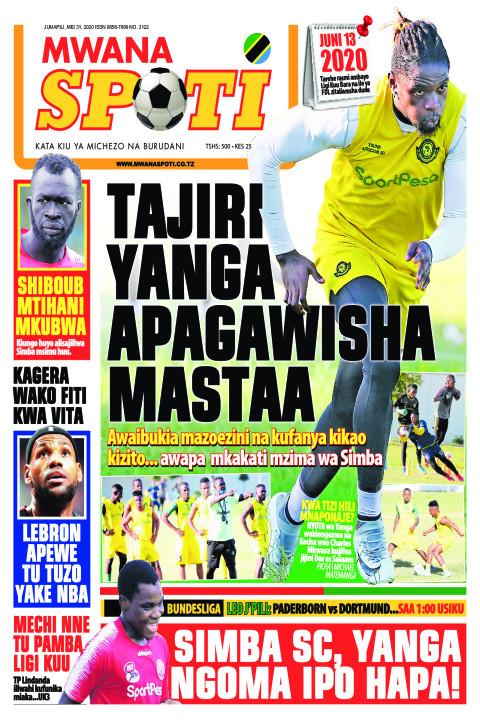 TAJIRI YANGA APAGAWISHA MASTAA | Mwanaspoti