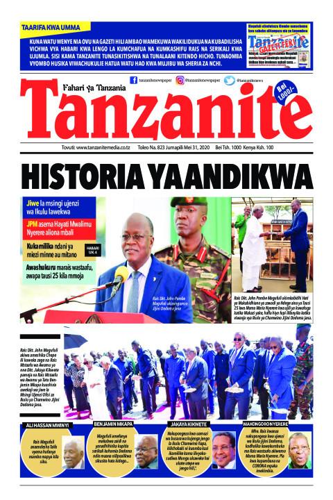 Historia yaandikwa. Jiwe la msingi ujenzi Ikulu lawekwa | Tanzanite