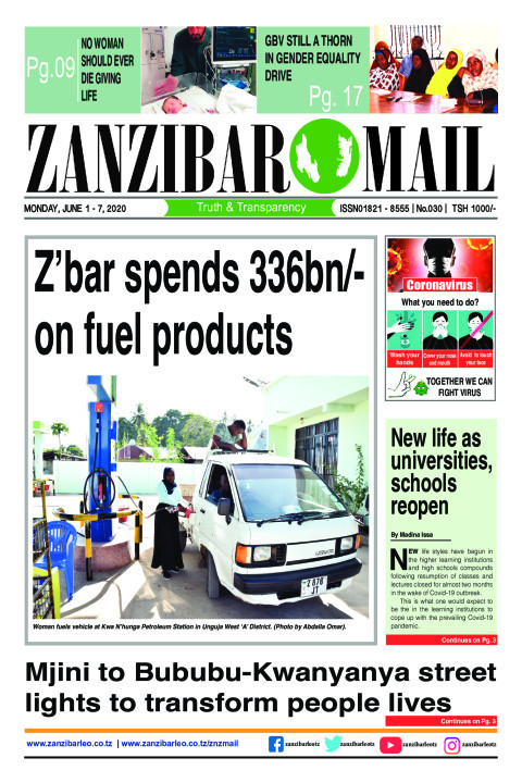 Z'bar spends 336bn on fuel products | ZANZIBAR MAIL