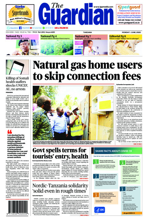 Natural gas home users to skip connection fees | The Guardian