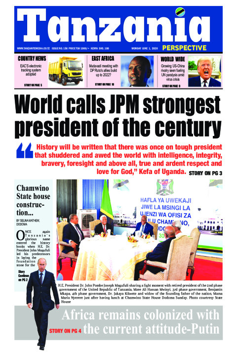 World calls JPM strongest president of the century | Tanzania Perspective