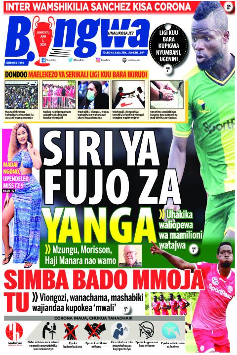 Dondoo: Maelekezo ya Serikali Ligi Kuu Bara ikirudi | Bingwa