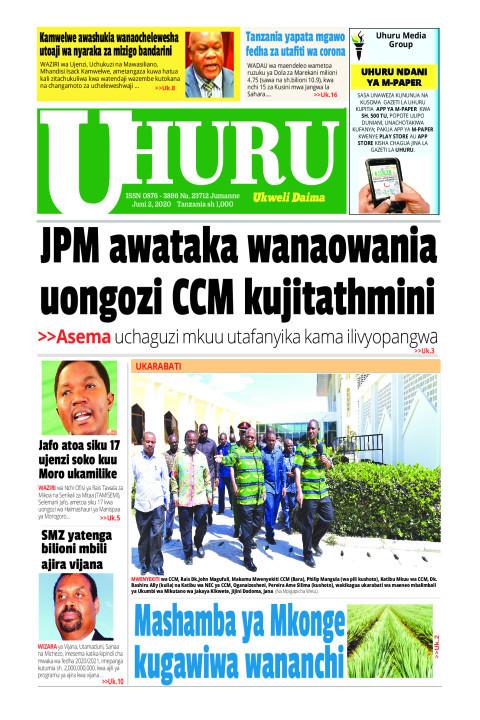 JPM awataka wanaowania uongozi CCM kujitathimini | Uhuru