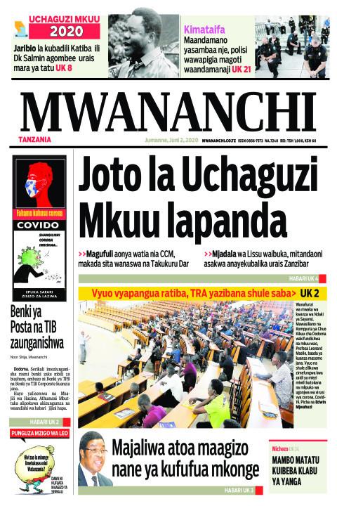 Joto la Uchaguzi Mkuu lapanda | Mwananchi