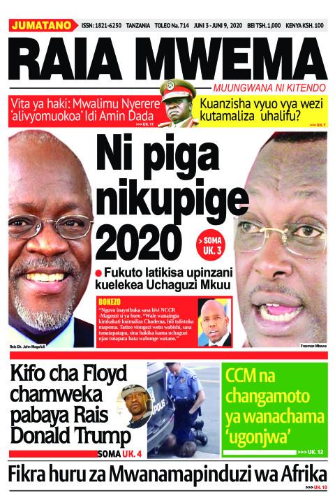 Ni piga nikupige 2020 | Raia Mwema