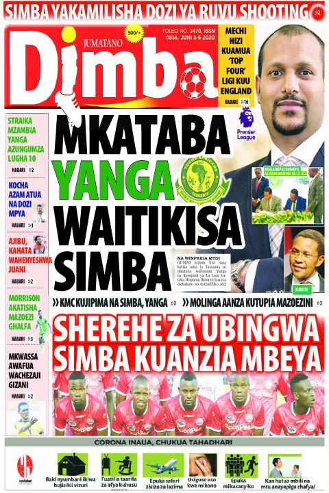 Mkataba Yanga waitikisa Simba | DIMBA