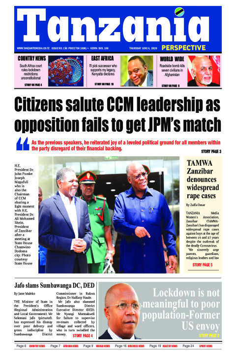 Citizens salute CCM leadership as opposition fails to get JP | Tanzania Perspective