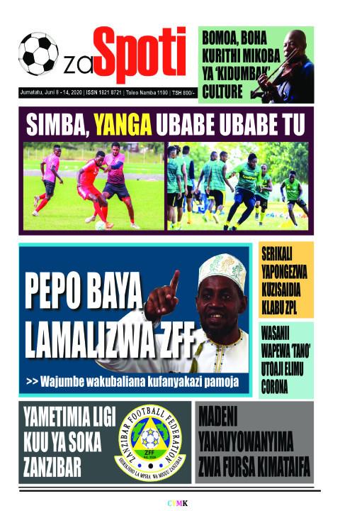 Pepo baya lamalizwa ZFF | ZA SPOTI