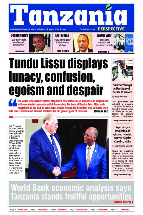 World Bank economic analysis says Tanzania stands fruitful o | Tanzania Perspective