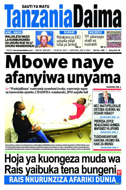 Mbowe naye afanyiwa unyama   Tanzania Daima