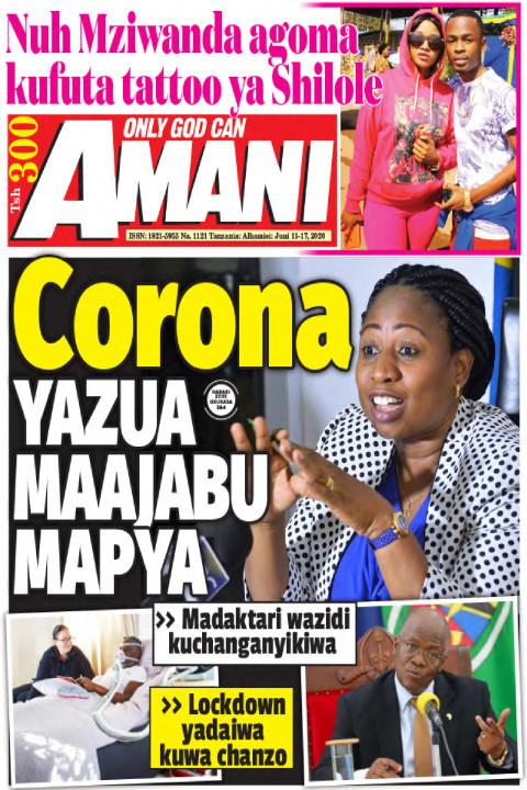 Corona YAZUA MAAJABU MAPYA | AMANI