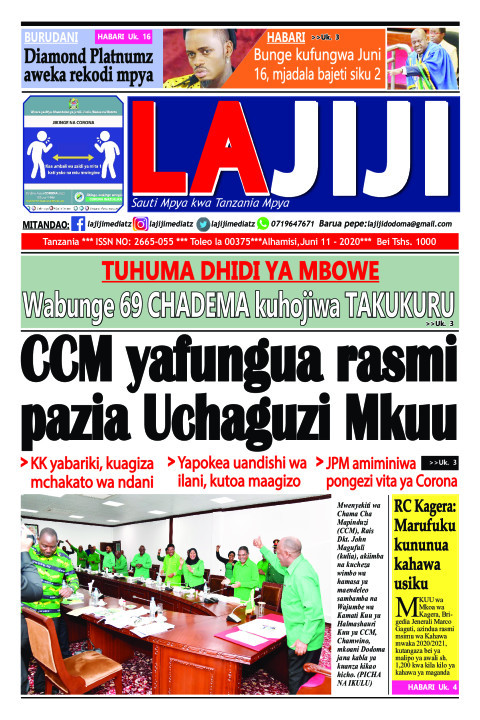 CCM yafungua rasmi pazia Uchaguzi Mkuu  | LaJiji