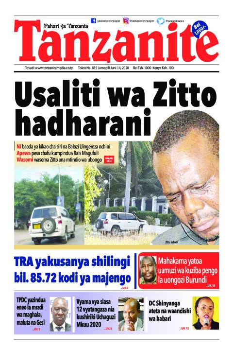 Usaliti wa Zitto hadharani | Tanzanite